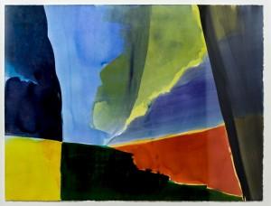 Heinrich Modersohn o.T. 2013 Tusche/Bütten 63 x 91 cm