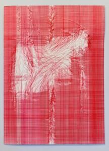 "Fernando De Brito ""Arcangelo Corelli / R 22/30 Kugelschreiber/Karten 65 x 50 cm"