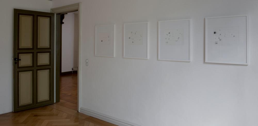 Bremen Claassen-Schmal Galerie für Gegenwartskunst Barbara Claassen-Schmal Ausstellung Karl Heinrich Greune Zeichnungen 1978 - 2013 Ausstellung 20. April bis 25.Mai 2013